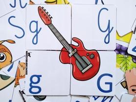 LITERKI dla dzieci | 112 puzzli