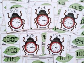 zegary która godzina karty dla dzieci edukacja