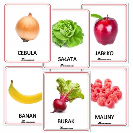 Owoce i warzywa FISZKI (1)