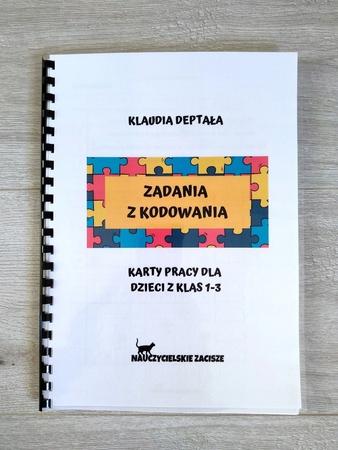 kodowanie zbiór kart pracy dla dzieci edukacja wczesnoszkolna