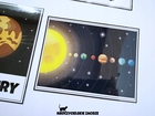 układ słoneczny planety plansze