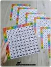 TABLICZKA MNOŻENIA Tabela bazowa + 6 plansz (5)