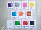 kolory plansze edukacyjne pokazowe barwy przedszkole