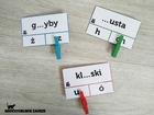 klamerkowa ortografia dla dzieci motoryka mała uczniowie