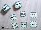 matematyczna wojna dodawanie i odejmowanie w zakresie 20 edukacja wczesnoszkolna liczenie gra dydaktyczna