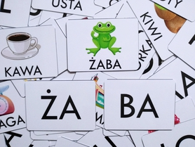 sylaby układanka sylabowa wyrazy 2sylabowe pomoce dydaktyczne do nauki czytania dla dzieci