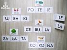 sylaby, wyrazy 3sylabowe, pomoce dydaktyczne dla dzieci, nauka czytania, czytanie sylabowe