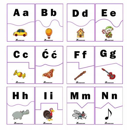 Puzzle Alfabet dla dzieci| Litery i obrazki PDF (1)