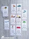 fiszki czytelnicze do nauki czytania metodą sylabową