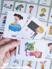 czynności czasowniki piktogramy plan dnia dla dzieci