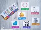 SYLABY Puzzle dla dzieci 36 wyrazów 2-sylabowych (3)