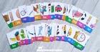 SYLABY Puzzle dla dzieci 36 wyrazów 2-sylabowych (6)