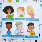 emocje uczucia co czujesz dla dzieci terapia pedagogiczna plansze edukacja psychologia dziecięca