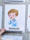 Plansze edukacyjne emocje i uczucia dla dzieci 36 plansz psychologia dziecięca pomoce terapeutyczne
