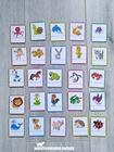 znaczki etykietki do szatni łazienki na krzesełka dla dzieci rozpoznawcze przedszkole